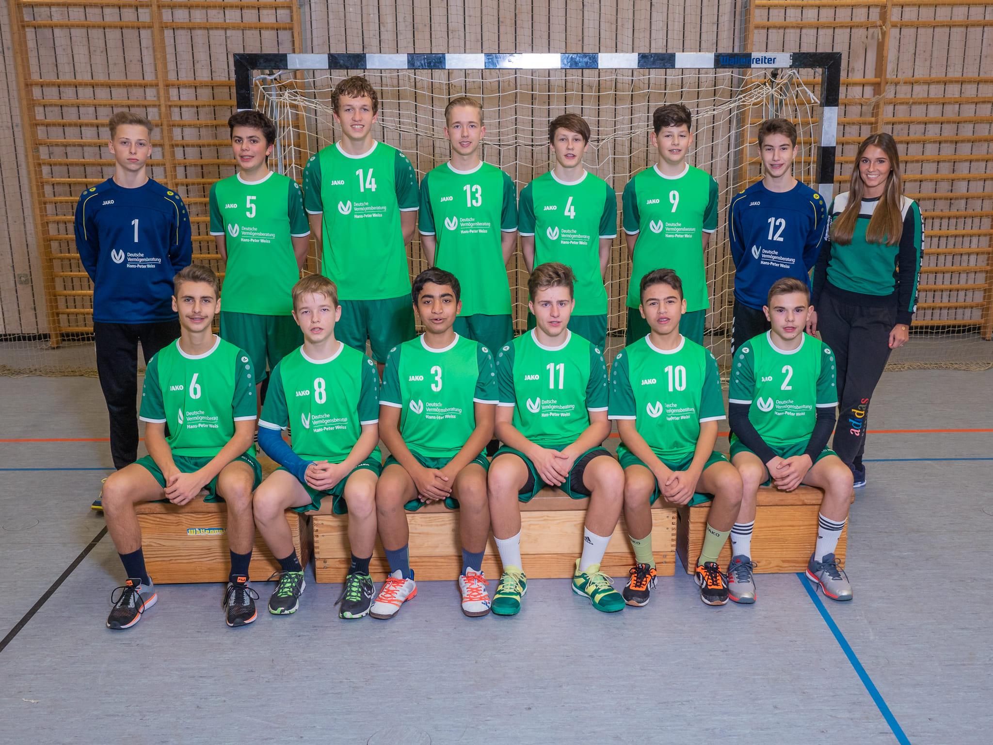 männliche B-Jugend - SV Mering