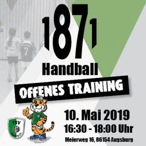Offenes Training der Tiger-Kids @ TSV 1871 Augsburg e.V. | Augsburg | Bayern | Deutschland