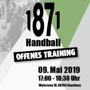 Offenes Training der Jugend @ TSV 1871 Augsburg e.V. | Augsburg | Bayern | Deutschland