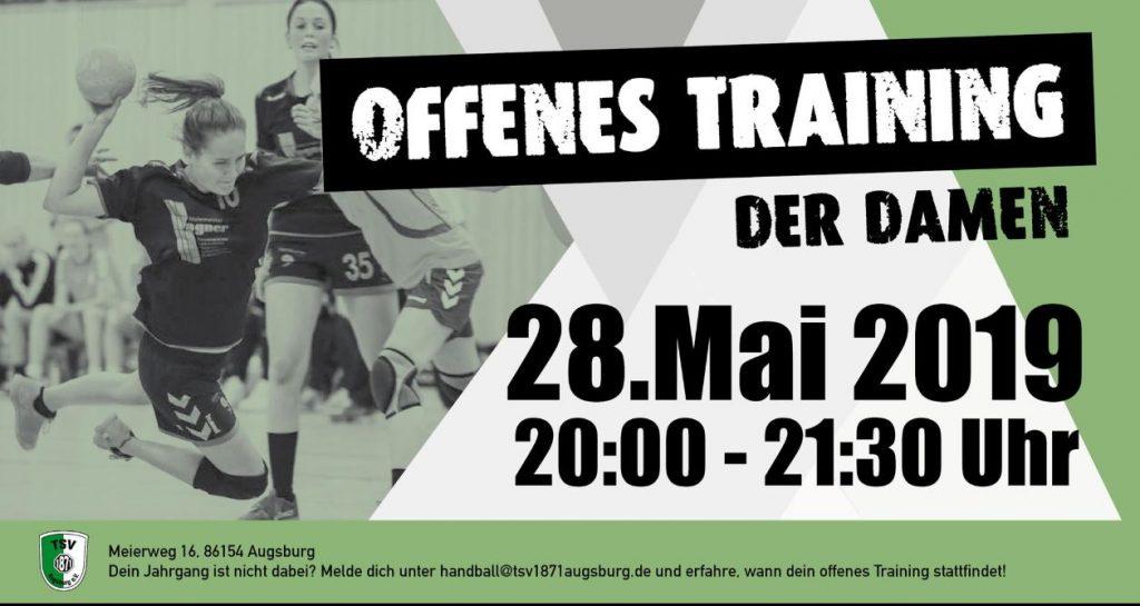Offenes Training Damen_28.05.2019