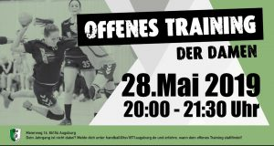 +++ Offenes Training der Damen +++ @ TSV 1871 Augsburg e.V. | Augsburg | Bayern | Deutschland