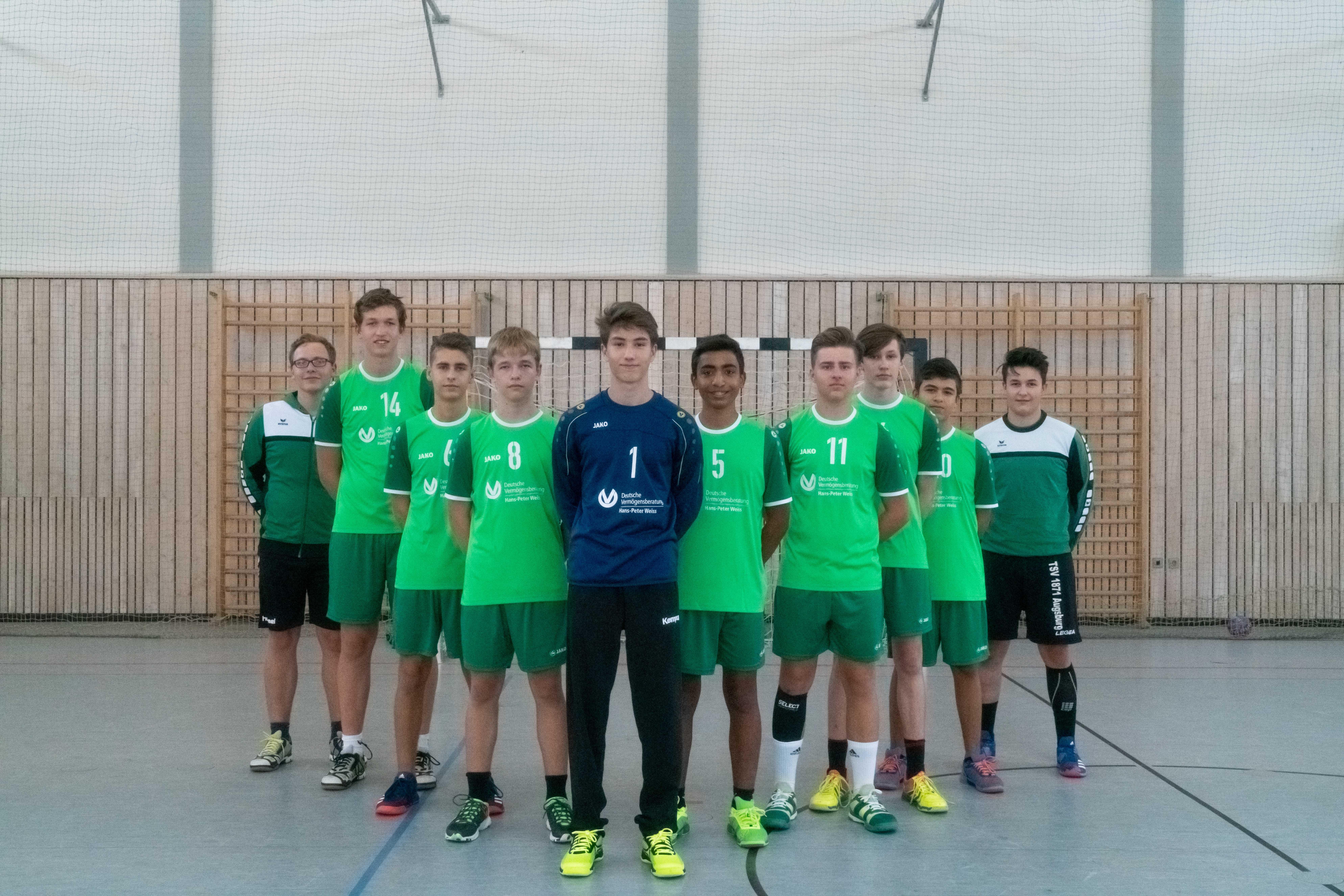 männliche B-Jugend - TSV Mindelheim