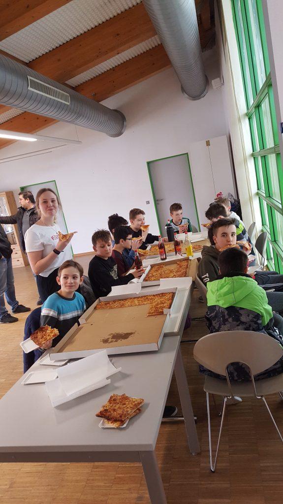 männlichen D-Jugend am 18.01.2020