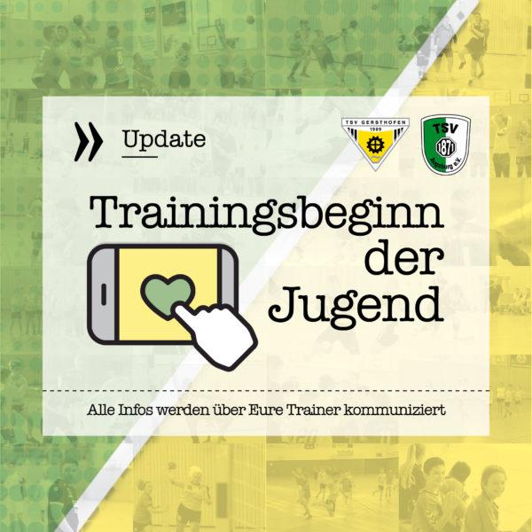 trainingsstart_Jugend