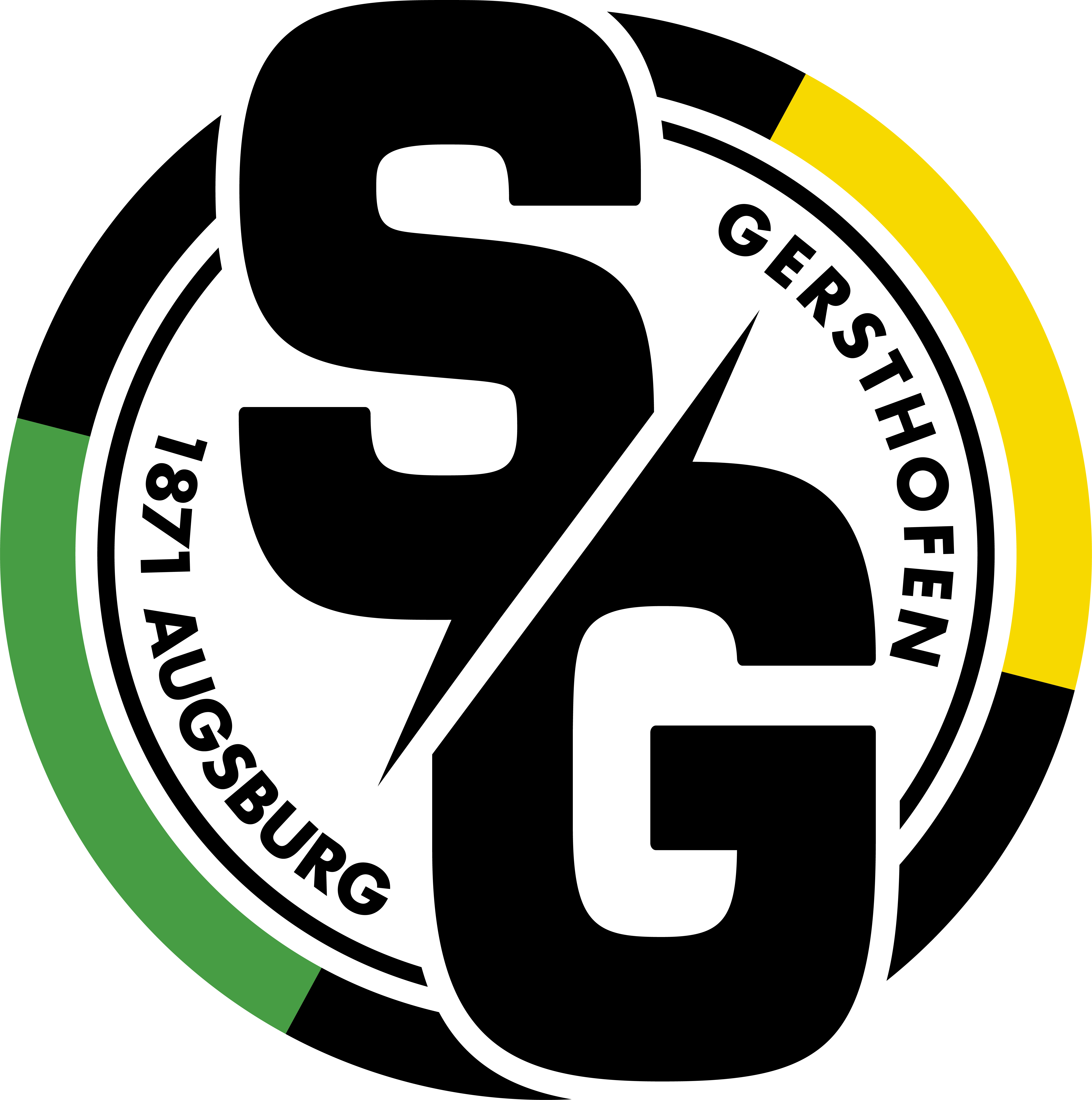 Logo SG 1871 Augsburg Gersthofen