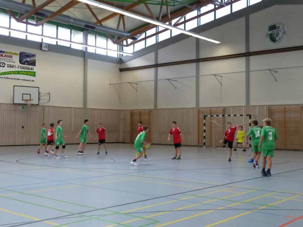 Männliche D-Jugend - TSV Aichach