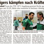 Artikel Herren I TSV 1871 Augsburg - TSV Göggingen