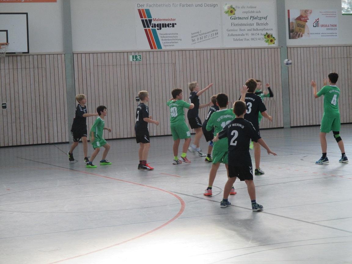 Handball D-Jugend TSV 1871 Augsburg
